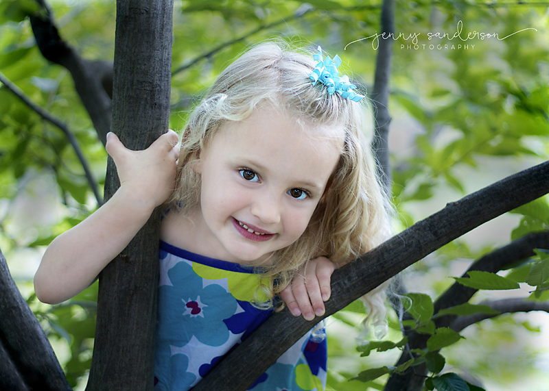 2015 Bria, climbing tree, best child photograper, Park Ridge, IL, Best copy copy